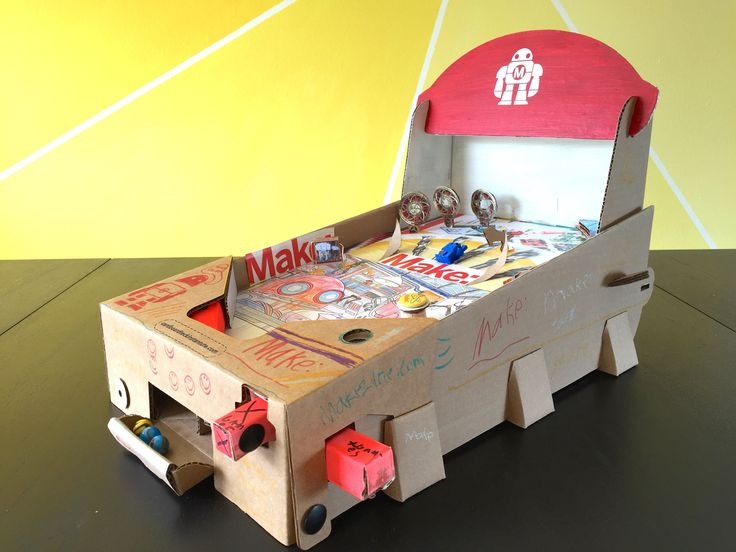 Make: magazine Projects Editor Donald Bell walks through his build of the Pinbox 3000 cardboard pinball kit.