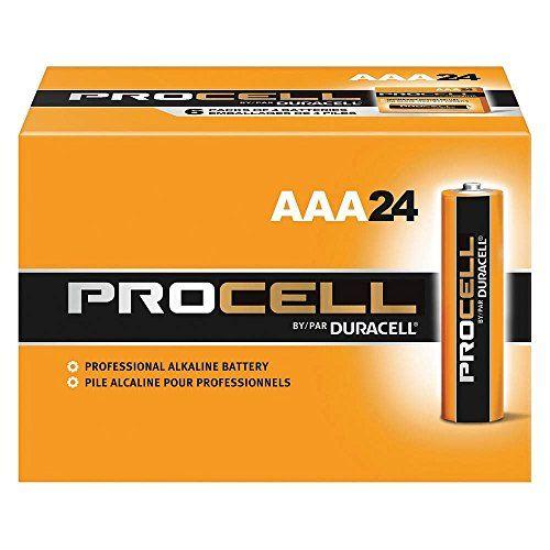 DURACELL AAA PROCELL Professional Alkaline Battery (Box of 24) - http://www.rekomande.com/duracell-aaa-procell-professional-alkaline-battery-box-of-24/