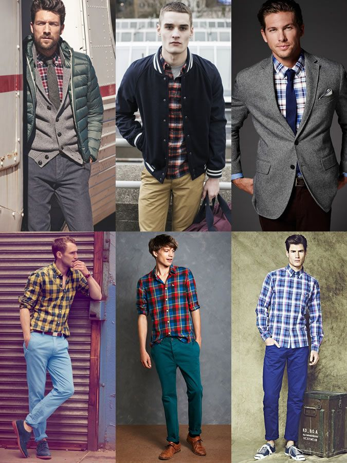 Men 39 S Check Shirt Lookbook Outfit Inspiration