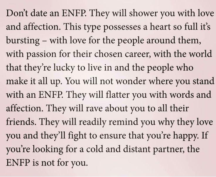 INFP en ENFP dating