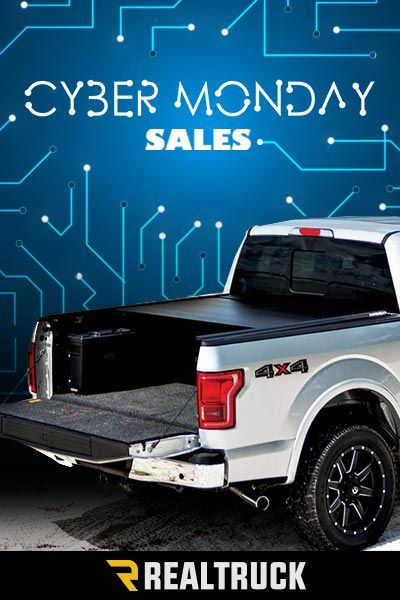 Cyber Monday Deals begin Nov. 27th. Shop RealTruck.com for a large selection of tonneau covers. We carry everything from TruXedo to BackFlip, with a variety of styles including retractable, roll-up, hard folding and many more. We have truck bed cover solutions for all your needs. Shop now to see our great deals. Hurry, sale ends soon!