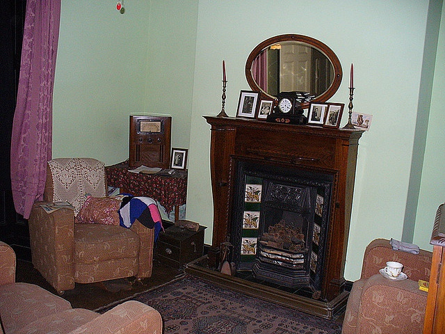 1000 Images About 1940s Parlor Living Room On Pinterest A Christmas Story Living Rooms And