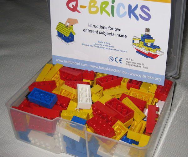 Kit di mattoncini per costruire una casetta o un peschereccio (completo di istruzioni!) - lego bricks kit for little house or fishing boat