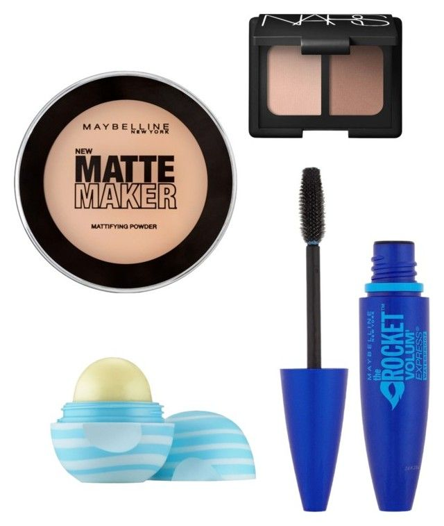 """6th Grade Makeup"" by singingbutdesigning on Polyvore featuring beauty, Maybelline, NARS Cosmetics and Eos"