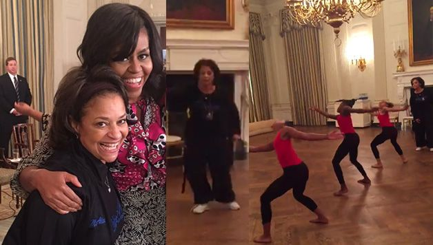 Debbie Allen was at the White House today where she held a #DanceAtTheWhiteHouse with the FLOTUS herself! The videos of these beautiful black girls dancing at the White House are so powerful and beautiful and will have you smiling with joy. Share with someone who loves dance and make their day! @msdebbieallen has The @WhiteHouse …