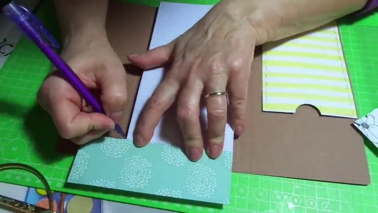 Porta block  notes/ Tutorial / Scrapbooking/  Riciclare