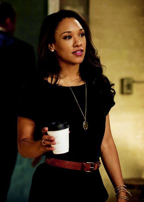 "The Flash - Candice Patton (Iris West) in ""Fastest Man Alive"""