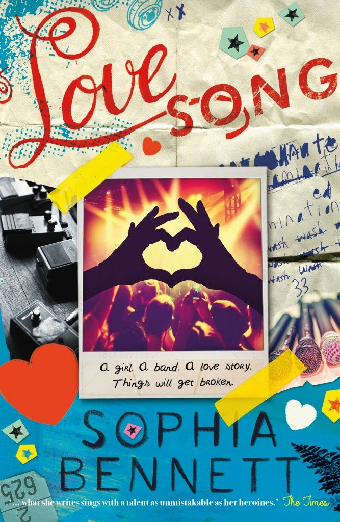 Nayu's Reading Corner: Love Song by Sophia Bennet, (Young Adult, 10E/10E, short 'n' sweet review)