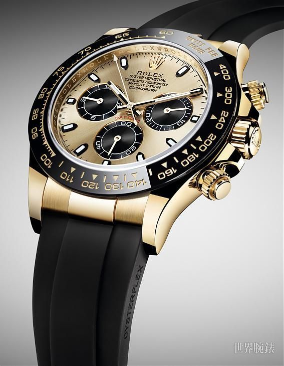 Image result for Oyster Perpetual Cosmograph Daytona 18K White Gold Men's Chronograph Watch Item No. 116519LN