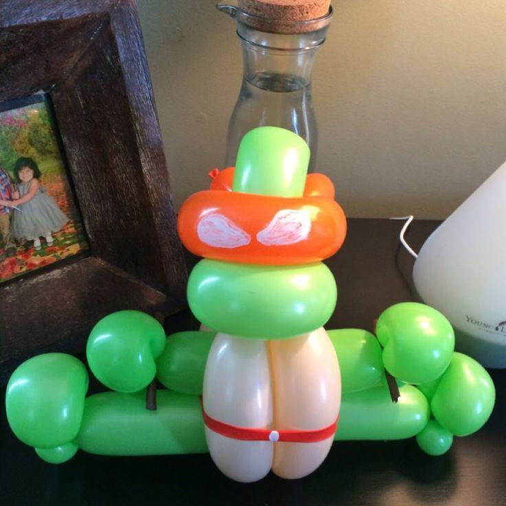 Best 25+ Ninja Turtle Balloons Ideas On Pinterest