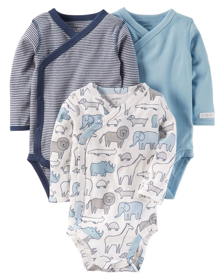 With snaps up the side, these essential, easy-to-wear, babysoft bodysuits are gentle on baby's new skin.