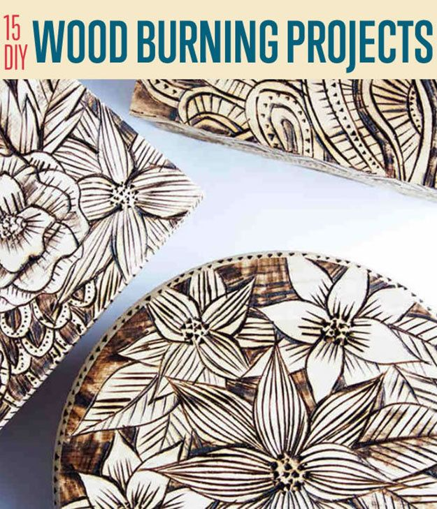 15 DIY Wood Burning Projects | Wood Burning Art Ideas| How To make Cool Projects For Your Home By DIY Ready.
