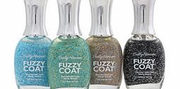 Sally Hansen Fuzzy Coat Nail Polish 200 All The ultimate outfit for your nails. Fuzzy Coat Nail Polish transforms nails with a 3D textured, woven fiber effect. To use: Apply 2-3 coats, allow to dry. Choose your desired colour from the list belo http://www.comparestoreprices.co.uk/nail-products/sally-hansen-fuzzy-coat-nail-polish-200-all.asp