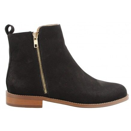 Clovelly Black Tony Bianco Leather Boot
