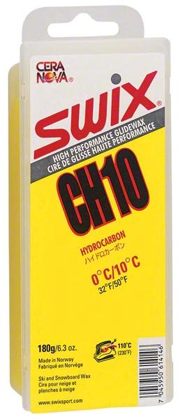 Swix Hydrocarbon Wax: CH10 Yellow: 180 grams