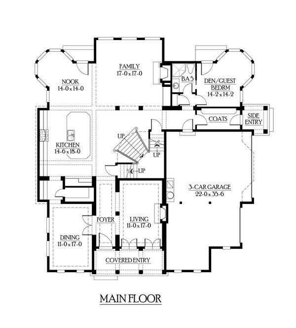 House Plan 341 00251 Luxury Plan 4 370 Square Feet 4 Bedrooms 5 Bathrooms In 2021 Mansion Floor Plan House Plans House Floor Plans