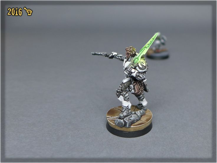 Infinity: ALEPH Hector painted by Scarhandpainting.com