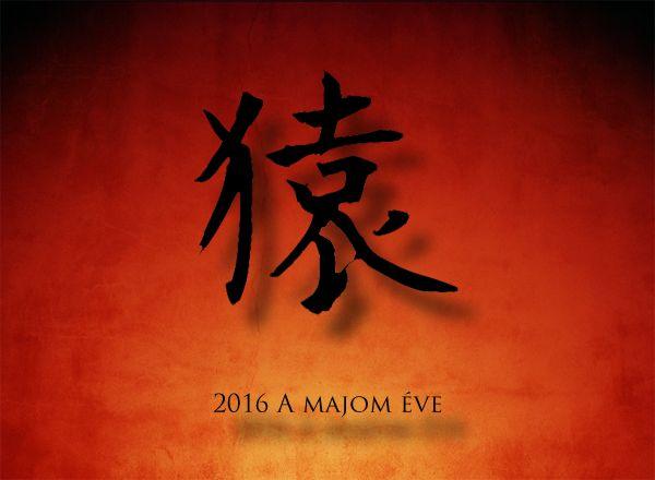 Kínai horoszkóp a majom éve 2016