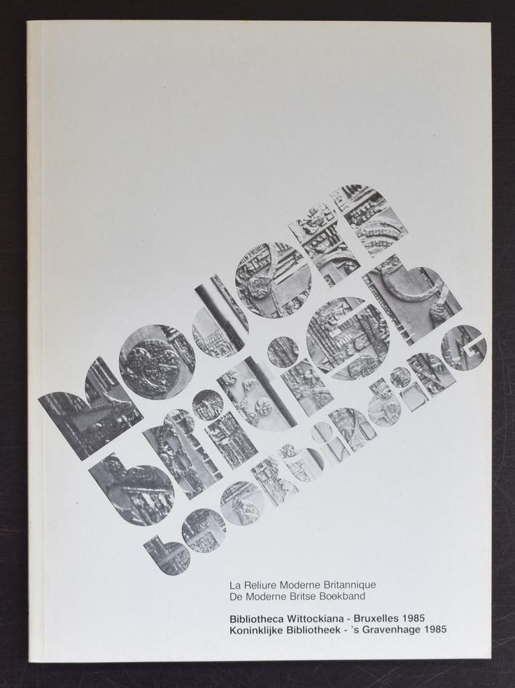 Koninklijke Bibliotheek # de MODERNE BRITSE BOEKBAND # 1985, nm+