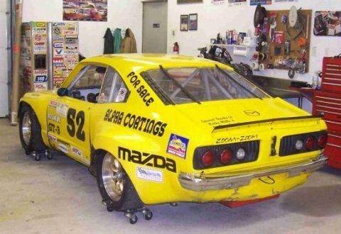 Rotary Racer 1974 Mazda Rx3 Scca Veteran Scca Race Cars Mazda