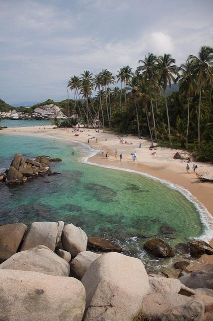 Cañaveral Beach at Tayrona National Park - Santa Marta, Colombia