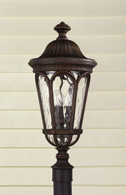 38 best lamp post ideas images on pinterest exterior lighting murray feiss 3 light post lantern from the regent court collection with b walnut outdoor lighting post lights post lights aloadofball Image collections