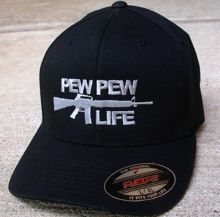 Pew Pew Life Black Cap – Fearless Nation