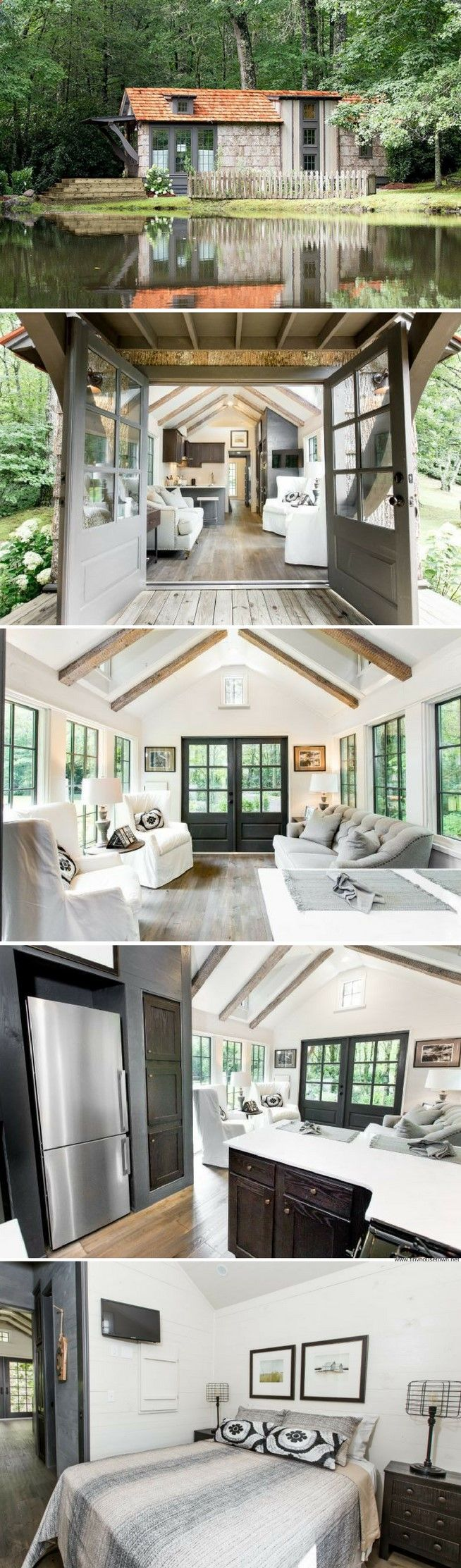 4744 best Tiny Dream Homes images on Pinterest | Small houses, Tiny ...