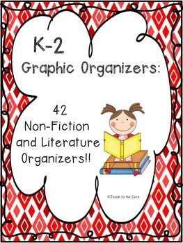 These graphic organizers are perfect to use during your shared reading block and your guided reading groups!  Graphic organizers provide a way for your students to break down text to increase understanding.  This product contains 42 non-fiction and literature graphic organizers that will help your students understand what they are reading!