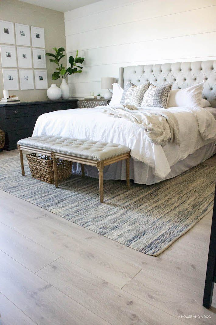 Best 25 modern farmhouse bedroom ideas on pinterest for Master bedroom flooring ideas