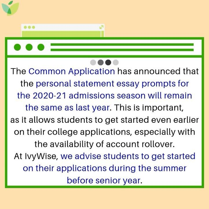 Check Out Our Collegeadmissions Blog For The Commonapp Essay Prompts And Contact Us For Help With Your Colle In 2020 College Apps Essay Prompts College Application