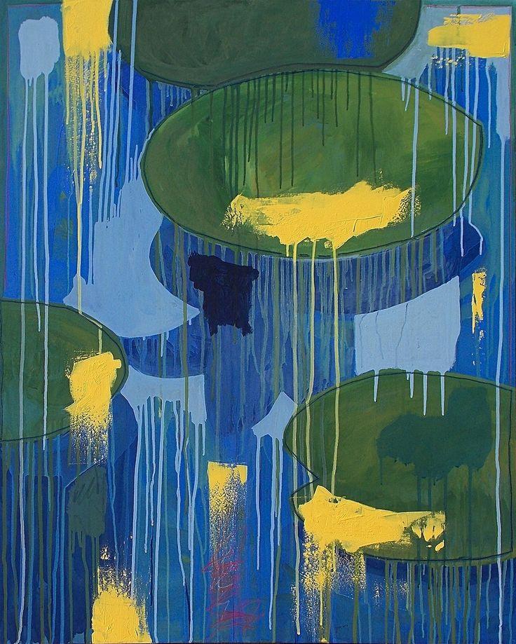 """andrea mattiello """"Diluire illusioni"""", acrilico e pastello su tela cm 80x100; 2016 #andreamattiello #mattielloandrea #artist #emergingartist #artistaemergente #contemporaryart"""