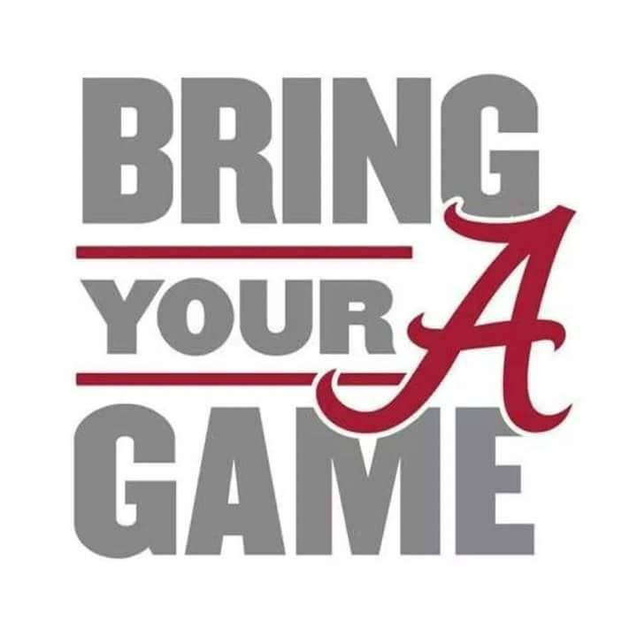 Let's all watch the Tide and the Mississippi Bulldogs in Tuscaloosa, AL or on ESPN @ 11:00AM, Noon Eastern on Saturday, Nov 12, 2016. Roll Tide Y'all!
