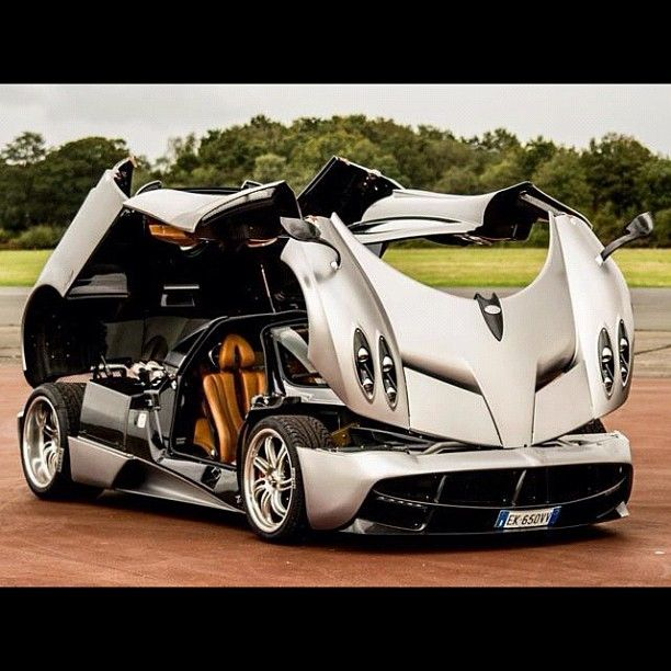 """The Pagani Huayra trying to match bumblebees transforming skills- From """"Transformers"""""""