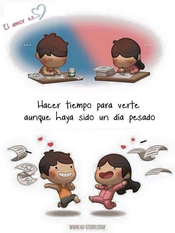 El amor es...
