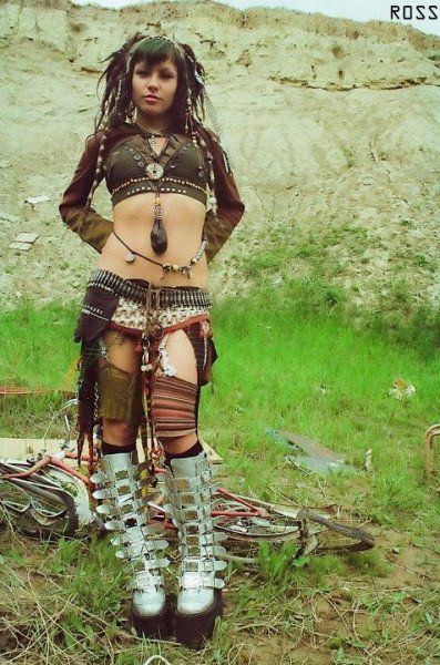 Tribal cyber punk fusion