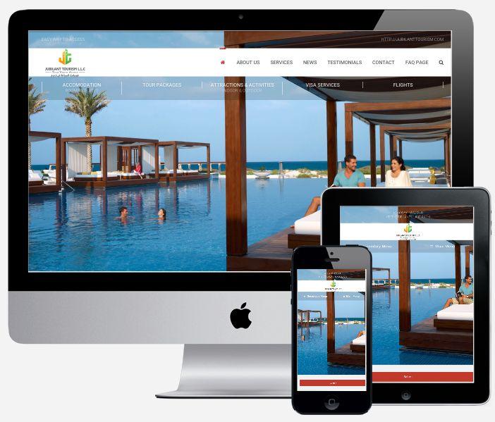 Jubilant tourism website hueray technology launched a new website for jubilant tourism see our latest