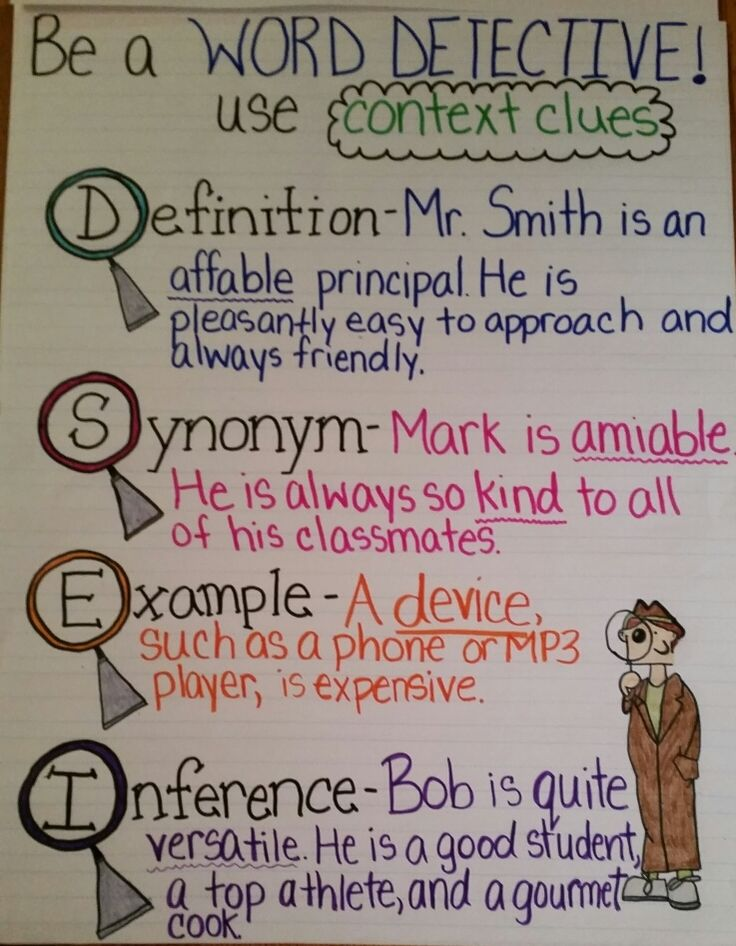Pictures of Context Clues Anchor Chart 2nd Grade - #rock-cafe