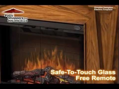 By PatioShoppers · Dimplex SEP O 4500 FB Bridgewood Indoor Electric  Fireplace Package. A Realistic