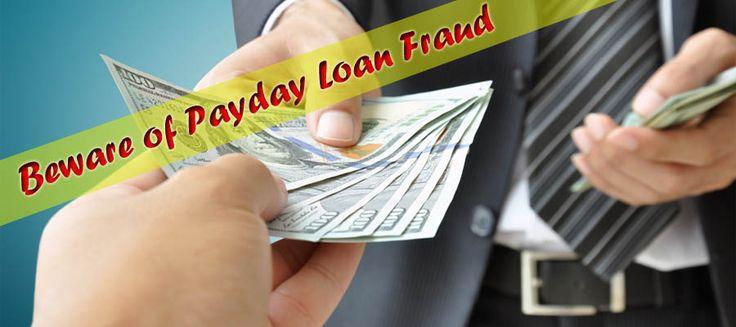 Beware of Payday Loan Fraud