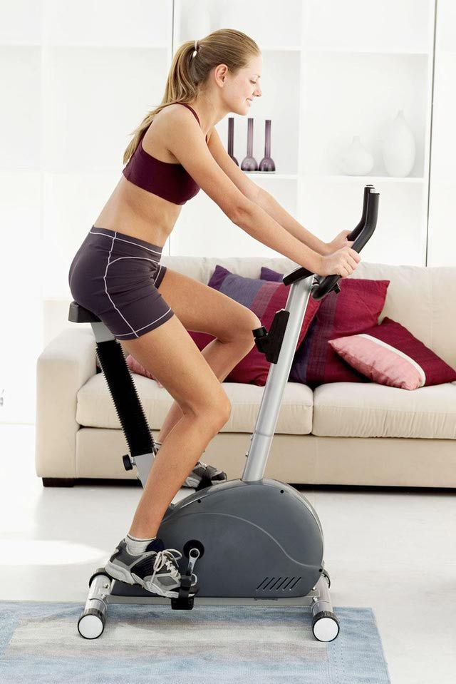 What to Look For in a Stationary Indoor Spinning Bike for Use at Home: Make Sure You Get a Model with a Nice Heavy Flywheel