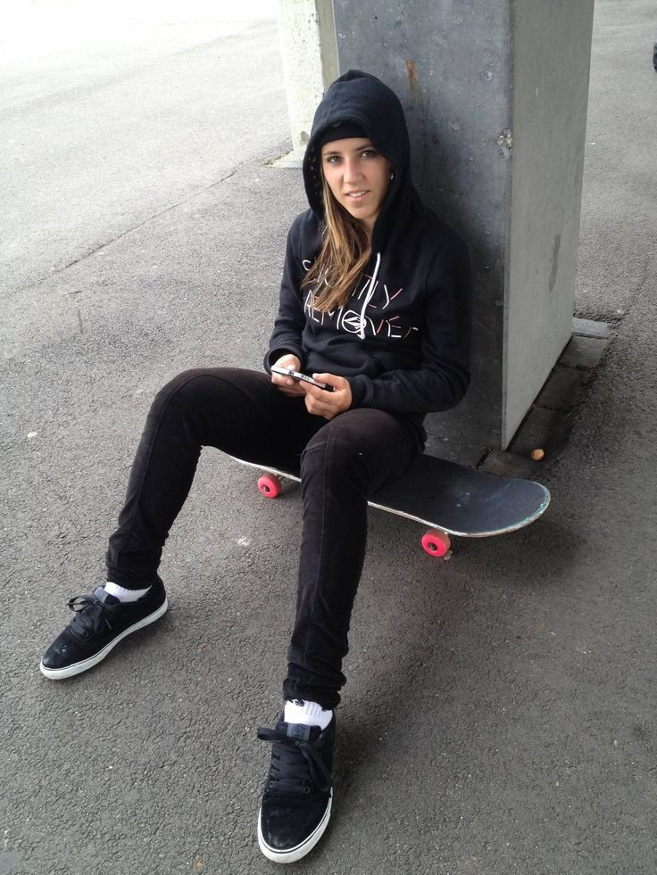Girl skateboard hoodies