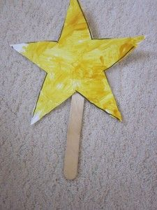 Educational Preschool Activity: Shapes and Colors (Stars for /st/)
