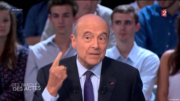 Alain Juppé / Marion Le Pen sur l'Islam et l'immigration (Des paroles et...