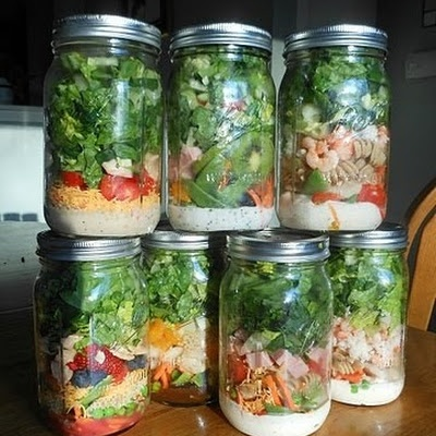 Mason Jar Salads!