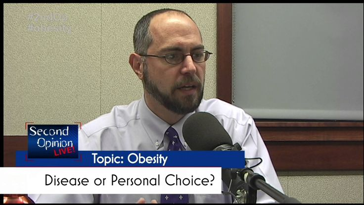 Dr. Steven Cook discusses the stigma of obesity and the negative effects of blaming the patient. SECOND OPINION LIVE!| Obesity