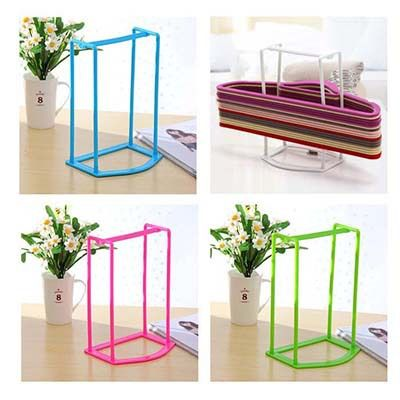 High Grade Clothes Hanger Storage Organization Rack Plastic Hangers  Finishing Stand Free Shipping Bs0007 5pcs