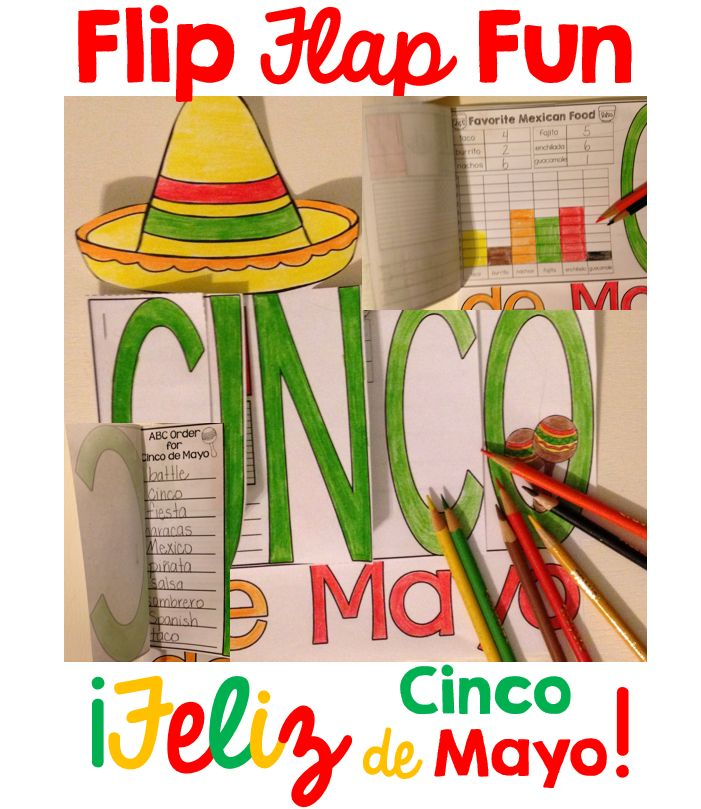 Primary Chalkboard: Cinco de Mayo Classroom Fun!