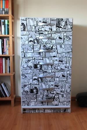 Como reformar móveis com papel contact