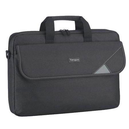 Targus TBT239EU  — 979 руб. —  Классическая сумка для переноски ноутбука с диагональю экрана до 15,6 дюйма. Внутри имеются отделения для, мыши, блока питания и прочих аксессуаров. Также в сумку легко помещаются документы формата А4. Плотная внутренняя обивка хорошо защищает ноутбук при переноске.